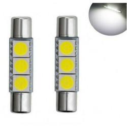 Ampoules LED 29mm 6000K Blanc Veilleuses