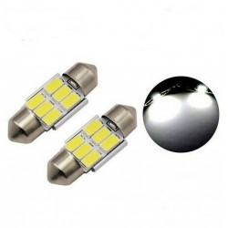 Ampoules 31mm LED Canbus 12 SMD Blanc 6500K