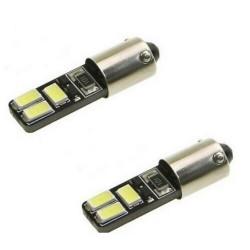 Ampoule LED BA9S Veilleuse T4W Canbus 6 SMD