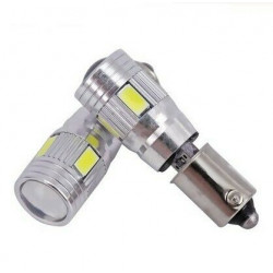 Ampoules LED BA9S Extra Blanche Veilleuses T4W H5W T3W T11