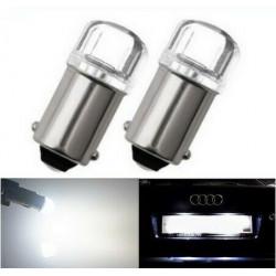 Ampoule ba9s LED t4w loupe canbus Blanc Puissante 6000K