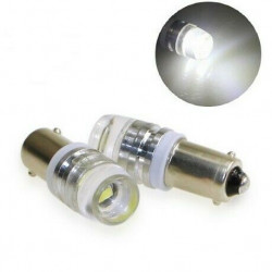 LED BA9S Ampoules T4W Lumiere loupe interieur Veilleuses phares 6000K