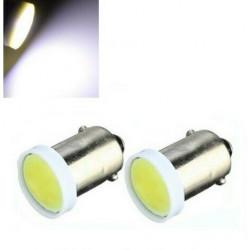 BA9S LED T4W Ampoules Blanche 6500K COB 100 lms