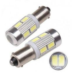 LED Ampoules BA9S Blanche Plafonnier habitacle Lampe 6000K
