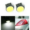 Ampoules T20 LED W21/5 W COB Blanc 6500K 7443 Veilleuses Auto