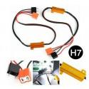 LED H7 Modules Decodeur resistance Canbus anti-erreur 50W anti flicker