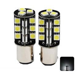 Ampoules BAY15D LED P21/5W 6000K 27 SMD