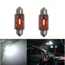 Ampoules LED 36 mm Puce XPG SMD Canbus Veilleuses Extra Blanches 6500K