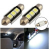 Ampoule C5W LED 36mm Canbus 6000K 3 SMD
