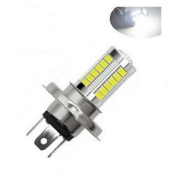 Ampoule H4 LED scooter 33 SMD Croisement Plein phare 6500K 12V