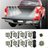 Kit eclairage LED Ampoules benne Blanc 8 modules pour 4x4 Ford Nissan Toyota