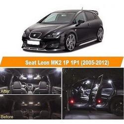 Pack Ampoules leds pour Seat Leon II 1P