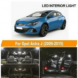 Pack Ampoules leds pour Opel Astra J