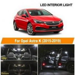 Ampoules leds Interieur Opel Astra K OPC GTC