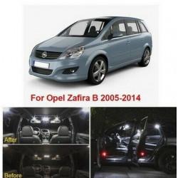 Ampoules leds Interieur Opel Zafira B