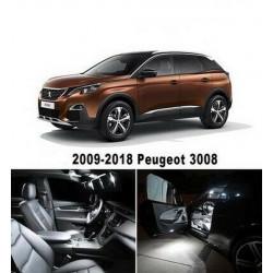 Ampoules leds Interieur Peugeot 3008
