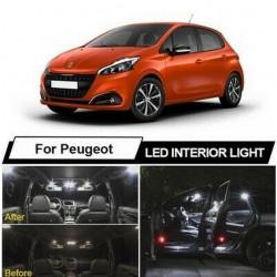 Ampoules leds Interieur pour Peugeot 208