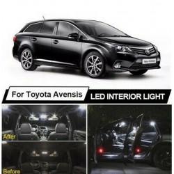 Ampoules leds Interieur Toyota Avensis T25