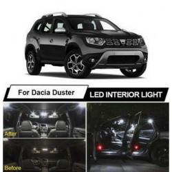 Ampoules leds Interieur Dacia Duster