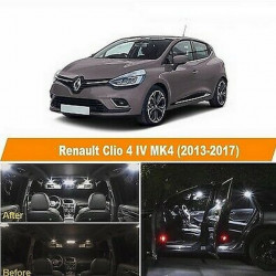 Ampoules leds Interieur Renault Clio 4 IV