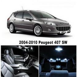 Ampoules leds Interieur Peugeot 407 SW