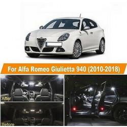 Ampoules leds Interieur Alfa Romeo Giulietta