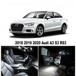 Ampoules leds Interieur Audi A3 S3 RS3