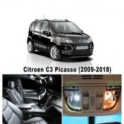 Ampoules leds Interieur Citroen C3 Picasso