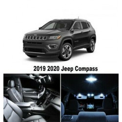 Ampoules leds Interieur Jeep Compass