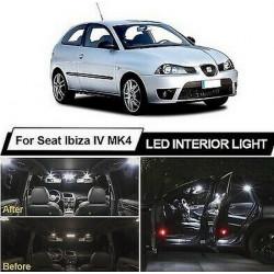 Ampoules leds Interieur Seat Ibiza 6L