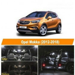 ampoules leds Interieur Opel Mokka X Blanc