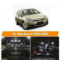 ampoules leds Interieur Opel Astra H OPC GTC