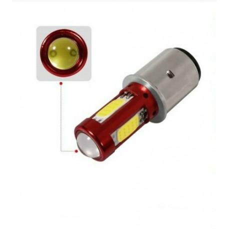 ampoule LED BA20D Blanc xenon 6000K