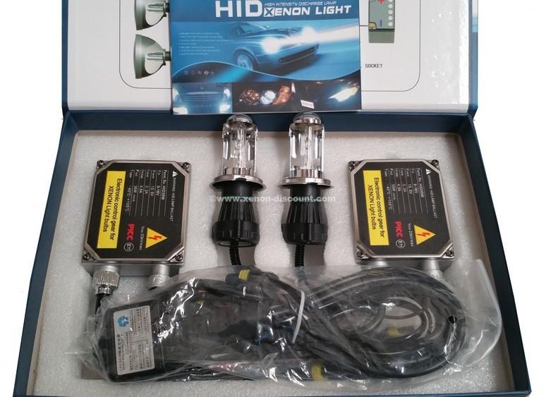 Kit Bi-xénon H4 4300K 35W Big + Paire de Leds Offerte