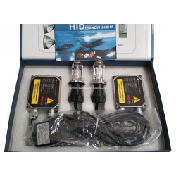 Kit Bi-xénon H4 12000K 35W Big + Paire de LED Offerte