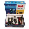 Kit Bi-xénon Moto 55W H4 10000K + Relais