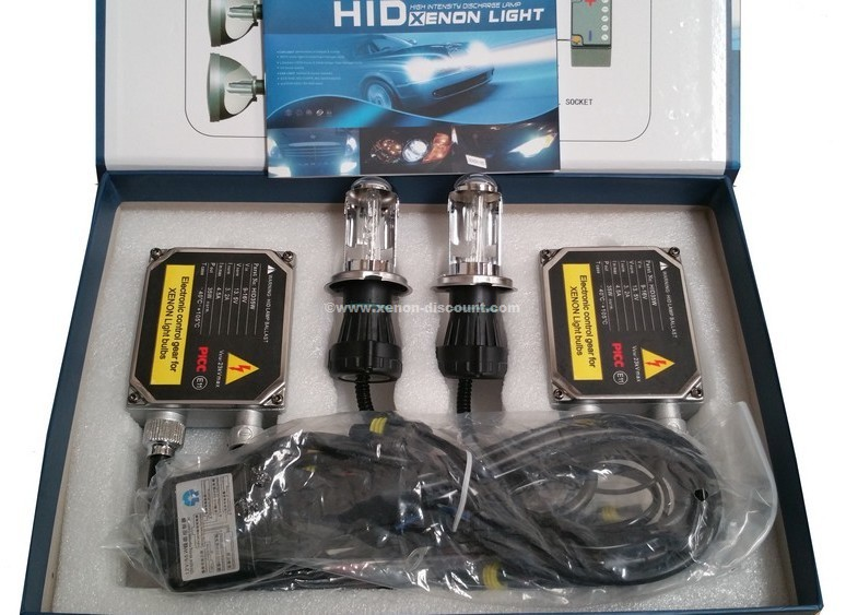 Kit Bi-xénon H4 6000K 55W Big + Paire de Leds Offerte