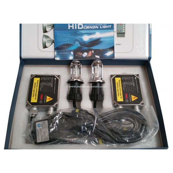 Kit Bi-xénon H4 10000K 55W Big + Paire de Leds Offerte