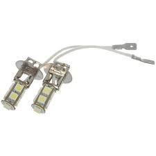 Paire H3-8SMD ampoules à leds couleur xénon