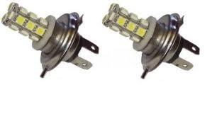 Paire H7-18SMD ampoules à leds couleur xénon