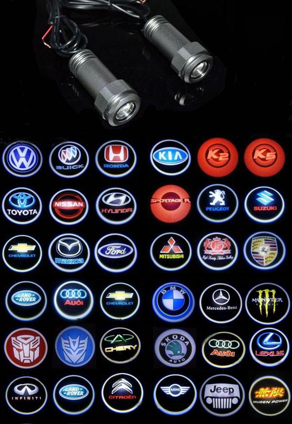 Lumière logo automobile laser Fantôme