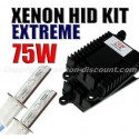 Kit xénon 75W 4300K au 12000K - Performance