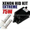 Kit xénon 75W 4300K au 12000K - Performance