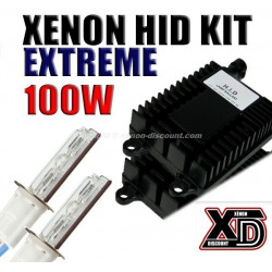 Kit Xénon 100W Performance 4300K au 12000K