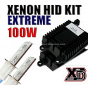 Kit xénon 100W 4300K au 12000K - Performance