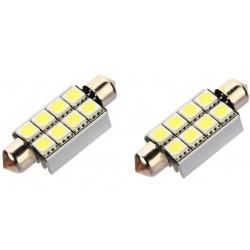 LED Navette C10W 42mm 8 leds Canbus