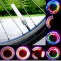 Bouchon Lumineux de valve 5 couleurs Auto Moto Velo
