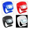 Kit LED Silicone Pour Vélo + piles offerte