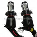 Ampoules Bi xenon 6000K H4 de remplacement 75W