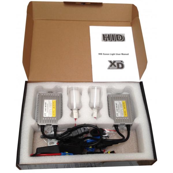 Kit xénon Slim 75W Performance 4300K au 12000K
